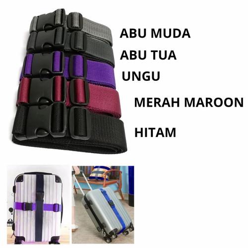 Foto Produk TALI TEBAL / SABUK PENGIKAT DAN PENGAMAN KOPER - TERMURAH - Hitam dari Royal Bag Jakarta