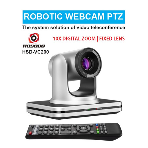 Foto Produk Robotic Webcam PTZ USB FullHD Video Conference Camera HOSODO HSD-VC200 dari EtalaseBelanja