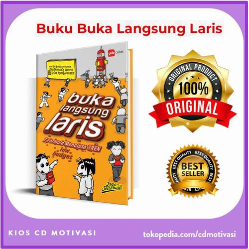 Foto Produk Buku Buka Langsung Laris Original Jaya Setiabudi dari Kios CD Motivasi