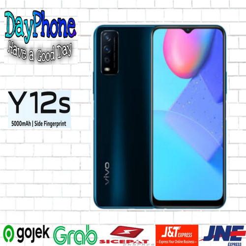 Foto Produk ViVo Y12s 3/32 RAM 3GB ROM 32GB GARANSI RESMI - Hitam dari DayPhone