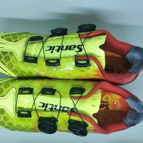 Foto Produk Sepatu RB Santic Carbon size 42 roadbike shoes dari IndoWebstorecom