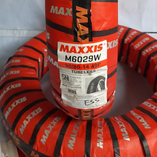 Foto Produk Ban Motor Maxxis M6029W 90/80-14 Tubeles dari Toko Disson Motor