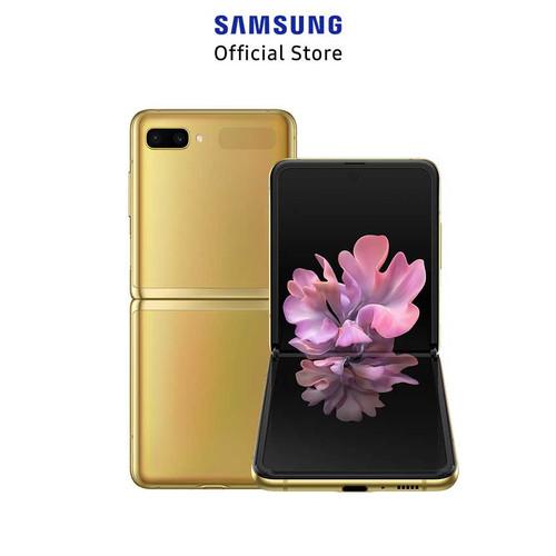 Foto Produk Samsung Galaxy Z Flip 8/256GB - Mirror Gold dari Samsung Mobile Indonesia