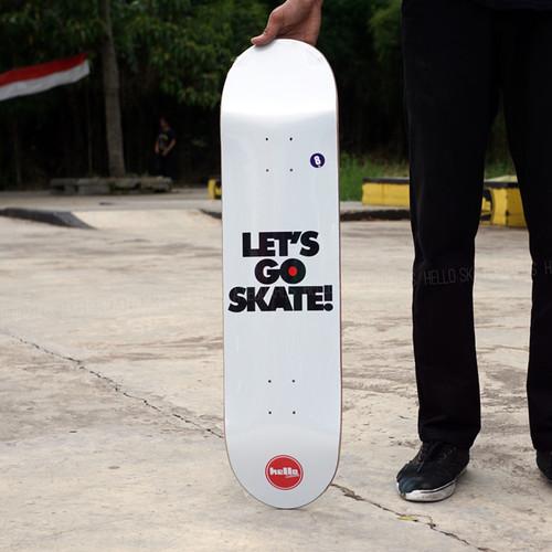 Foto Produk Hello Lets Go Skate sz 8 & 8.25 dari Hello Skateboards
