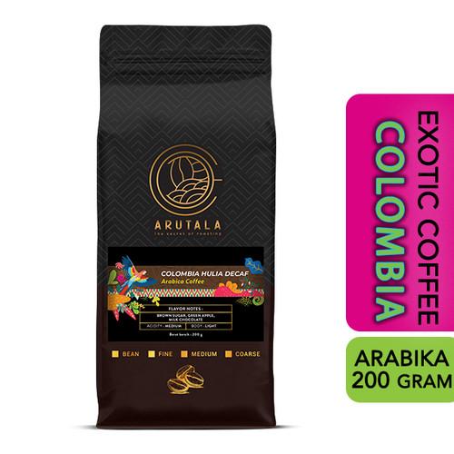 Foto Produk ARUTALA Kopi Colombia Decaf Arabika 200 gram - Giling Kasar dari Arutala Online Co.