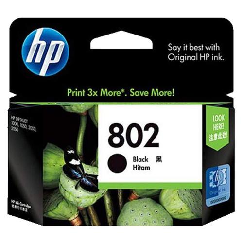 Foto Produk Cartridge HP 802 Black Catridge Original HP 802 BL dari PojokITcom Pusat IT Comp