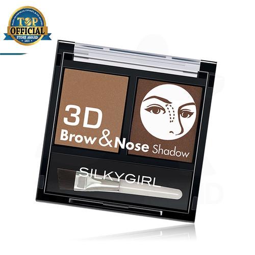 Foto Produk SILKYGIRL Expert Brow & Nose Shadow Dark Brown dari SILKYGIRL Official Store