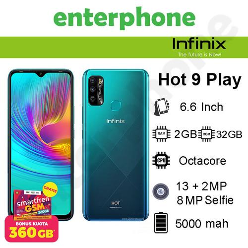 Foto Produk Infinix Hot 9 Play 2/32Gb Garansi Resmi - Ungu dari enterphone2
