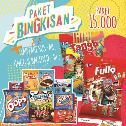 Foto Produk PAKET BINGKISAN OT 2 - 1 PAKET ISI 5 BINGKISAN dari OT STORE OFFICIAL