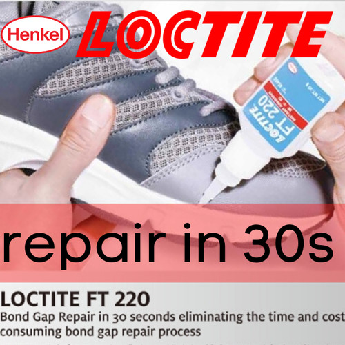 Foto Produk Lem Sepatu LOCTITE FT-220 Henkel | Instant Shoe Adhesive dari indoglowdark