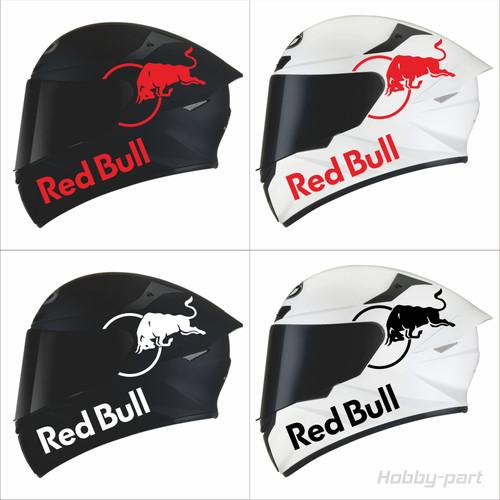 Foto Produk Sticker Helm Redbull - Putih dari hobby-part