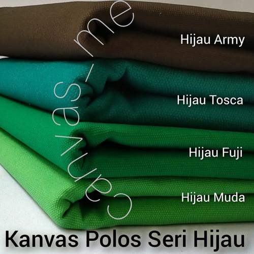 Foto Produk Kain Kanvas Polos Seri Hijau - Tosca dari canvas_me