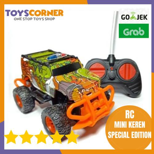 Foto Produk Mobil remote kontrol R/C MINI CAR Mobil Remot Jeep Special Edition dari TOYSCORNER INDONESIA