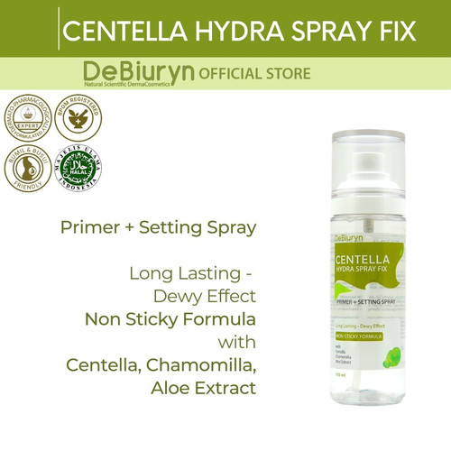 Foto Produk DeBiuryn Centella Hydra Spray Fix 100ml dari Debiuryn Dermacosmetics