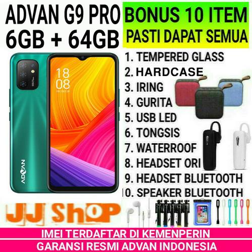 Foto Produk ADVAN G9 PRO 6/64 4/32 RAM 6GB 4GB ROM 64GB 32GB GARANSI RESMI ADVAN - G9 4/32gb, BONUS 4 ITEM dari JJ SHOP PEDIA 2