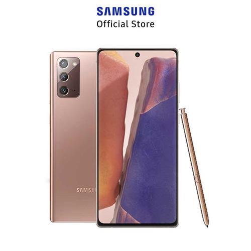 Foto Produk Samsung Galaxy Note 20 8/256GB - Mystic Bronze dari Samsung Mobile Indonesia