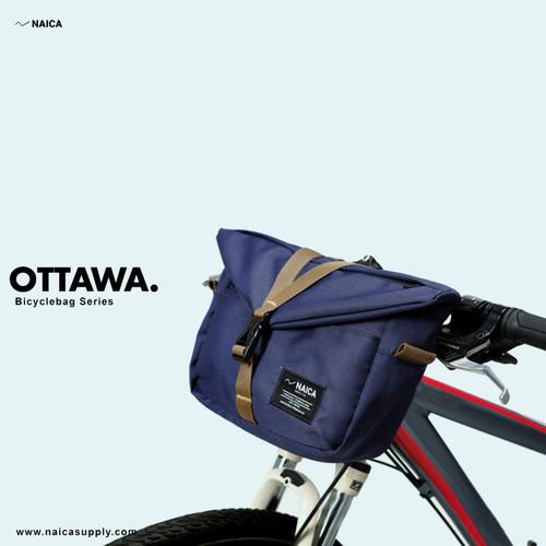 Foto Produk NAICA - Tas Sepeda - Ottawa - Biru - tas sepeda lipat handlebars dari naicasupplyco