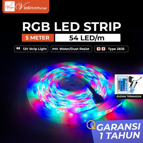 Foto Produk Violin Lampu LED Strip 2835 RGB IP65 54LED/M 5M dari ViolinOfficial
