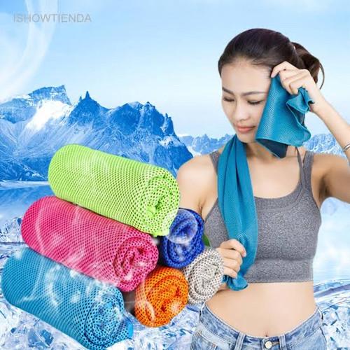Foto Produk Handung Sport Cooling Towel - Hijau dari Runninggan