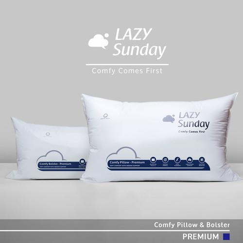 Foto Produk Paket 1 Bantal + 1 Guling Tidur LAZY Sunday , BEST DEAL !! Top Quality dari LAZY Sunday Store