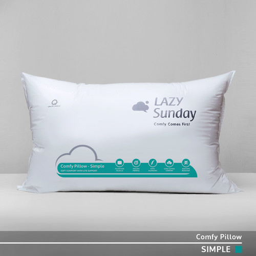 "Foto Produk Bantal Tidur Nyaman ""Ekonomis"" LAZY Sunday , BEST DEAL !! Good Quality dari LAZY Sunday Store"