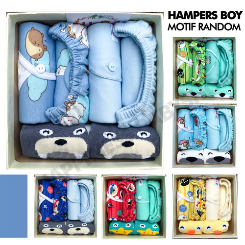 Foto Produk HAMPERS NEWBORN / KADO LAHIRAN BAYI / KADO BAYI - BOY dari Happiness_Babyshop