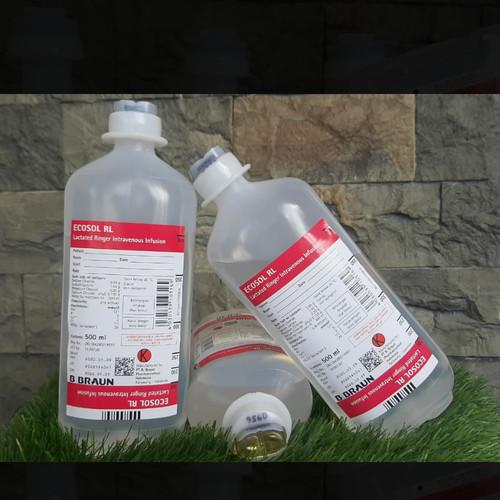 Foto Produk RL pz 500 ml ,ecosol cairan infus RL b braun dari rarafa farma