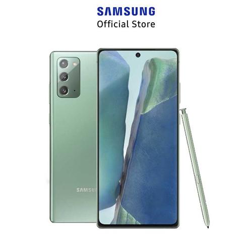 Foto Produk Samsung Galaxy Note 20 8/256GB - Mystic Green dari Samsung Mobile Indonesia