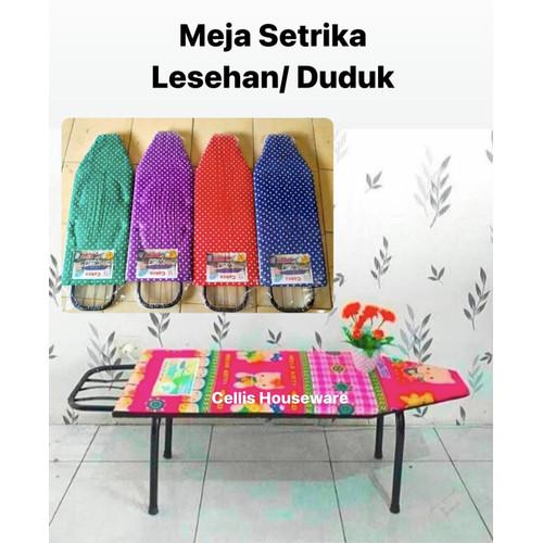 Foto Produk meja setrika duduk lesehan - meja Gosokan- Motif Random dari Cellis Houseware