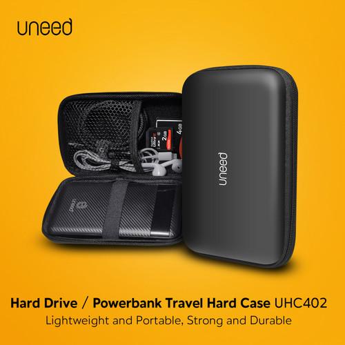 Foto Produk UNEED Hard Case for Powerbank Earphone Hard Disk SSD Hardcase - UHC402 dari Uneed Indonesia
