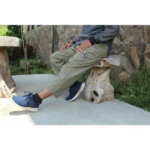 Foto Produk Celana Sirwal Tactical Outdoor Pria Eksclusive - Hitam, XL dari griyahijabq