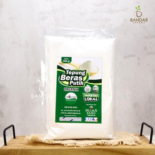 Foto Produk Tepung Beras Putih Organik Gluten Free 500gr - Mama Kamu dari Bandar Organik