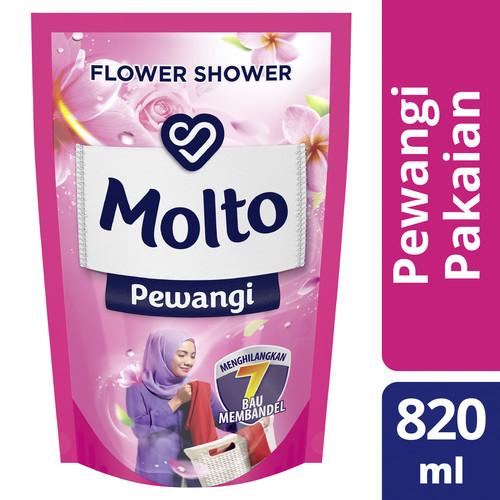 Foto Produk Molto Pewangi Pakaian Pink 820Ml dari Unilever Official Store