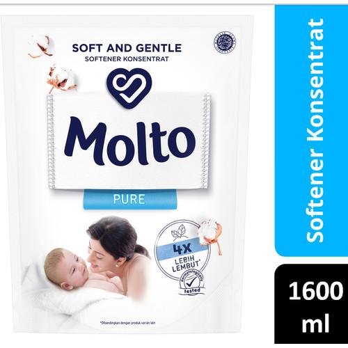 Foto Produk Molto Pelembut & Pewangi Pakaian Pure 1600 Ml dari Unilever Official Store