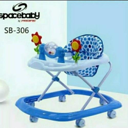 Foto Produk Baby Walker Spacebaby SB 302 dari RCG Baby Shop
