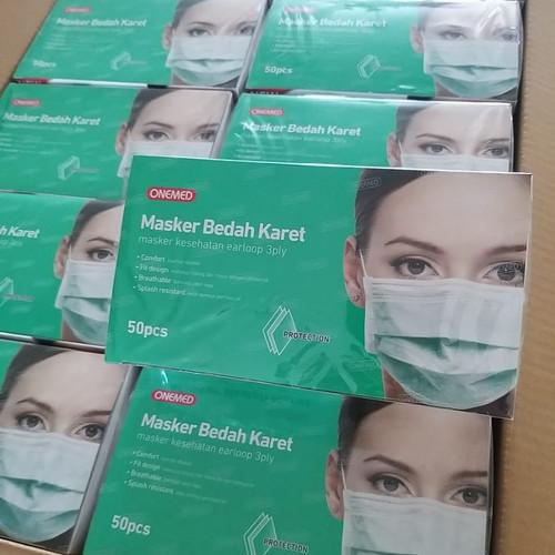 Foto Produk masker onemed 3ply earloop termurah dari TOKO IQOS