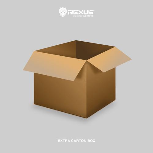 Foto Produk EXTRA Kardus tambahan khusus produk REXUS dari Rexus Official Store