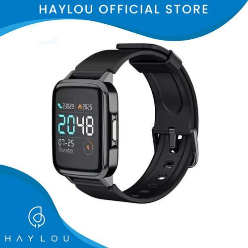 Foto Produk Haylou Smartwatch LS01 1.3in LCD Color Screen IP68 Waterproof - Hitam dari Haylou official store