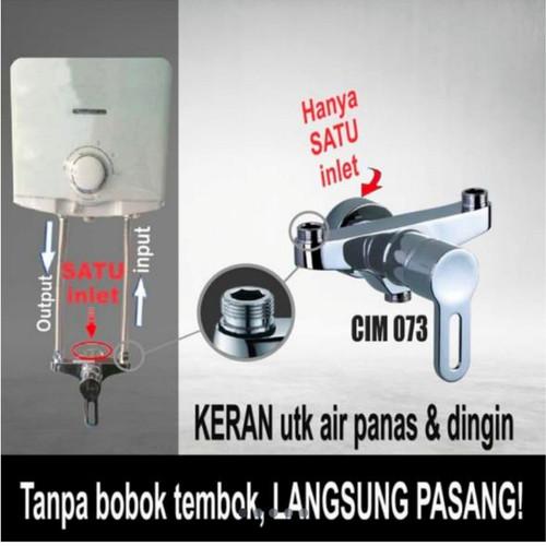 Foto Produk KRAN AIR PANAS DINGIN TANPA BOBOK MERK CELLO CIM 073 dari SJSanitary