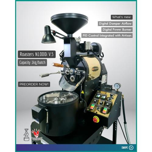 Foto Produk Mesin Roasting Kopi N1000i dari NOR Coffee Indonesia
