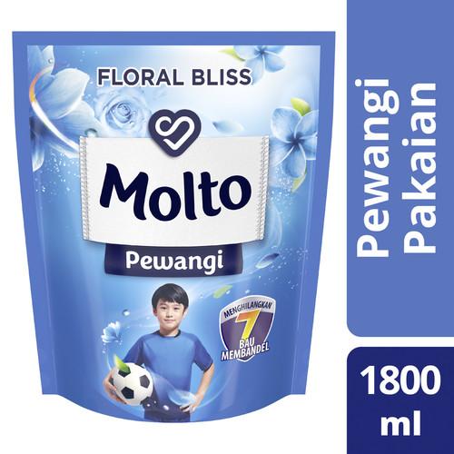 Foto Produk Molto Softener Pelembut Dan Pewangi Pakaian Floral Bliss 1800Ml dari Unilever Official Store