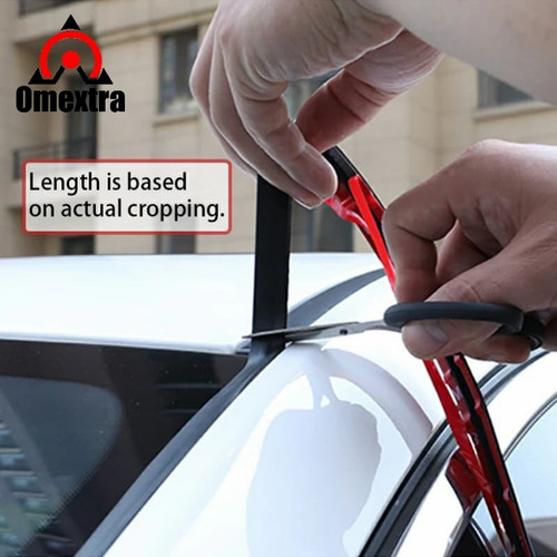 Foto Produk Karet Kaca Mobil Segel Karet Pelindung Kaca Debu Suara Noise Reduction - RANDOM dari OMEXTRA