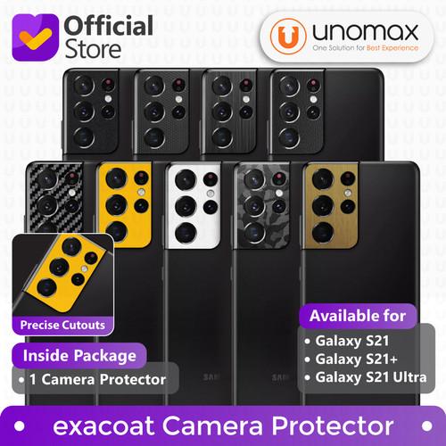 Foto Produk Camera Protector Samsung Galaxy S21 / Plus / Ultra Exacoat - S21 Ultra, Matte Black dari unomax
