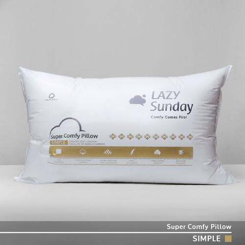 Foto Produk Bantal Microfiber Bulu Angsa Grade A - LAZY Sunday - dari LAZY Sunday Store