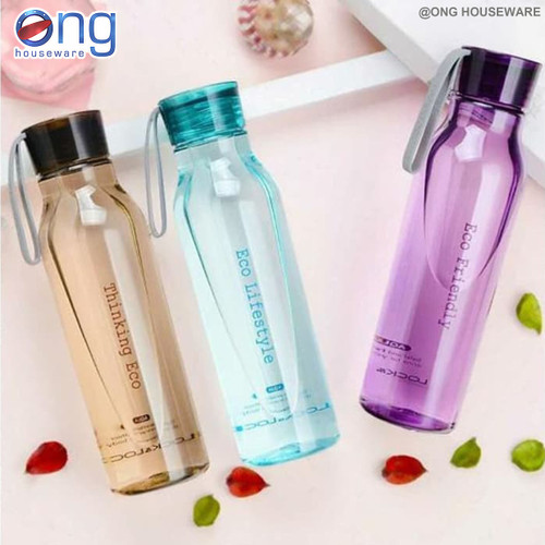 Foto Produk Botol Air Minum eco Water Bottle Lock & Lock 550 ml HLC 644 HLC644 - Cokelat dari ONG HOUSEWARE