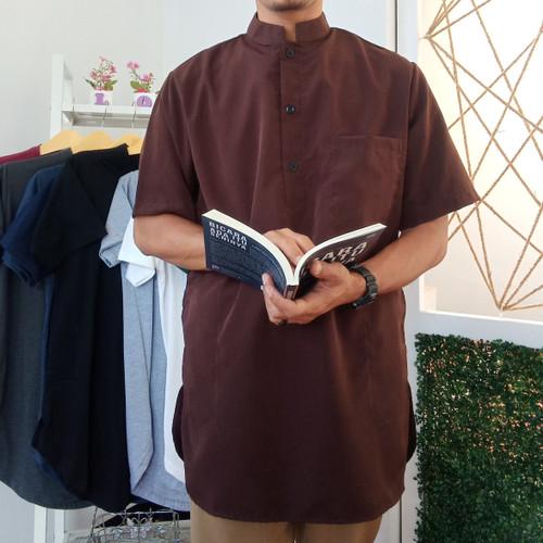 Foto Produk baju koko pakistan lengan pendek dari alkaf store