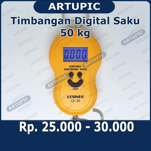 Foto Produk Timbangan Saku Gantung Digital Portable Electronic Scale LS01 LS-01 50 dari ArtupicPeralatanPeternak