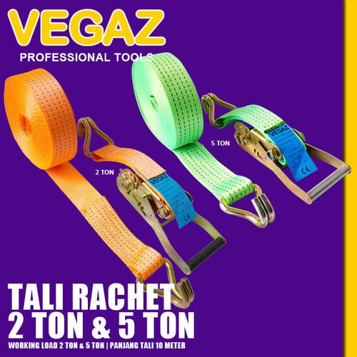 Foto Produk VEGAZ - Rachet Tie Down Tali Rachet Track Belt Rachet Lashing dari Vegaz-Tools