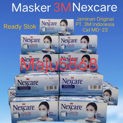 Foto Produk 3M Nexcare masker daily 3ply - Earloop dari Maju5868