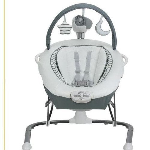 Foto Produk Graco Duet Sway LX Baby Swing with Portable Bouncer - holt dari Tembem Baby Mart